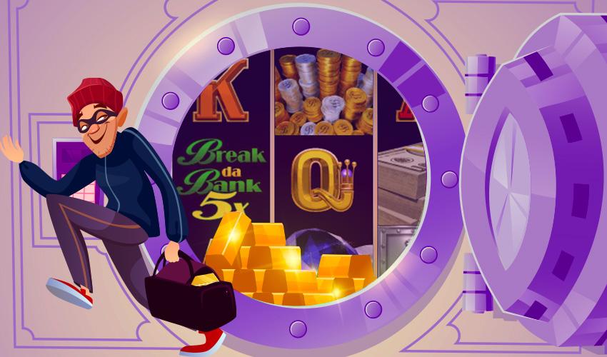 Logo Break Da Bank Again Respin