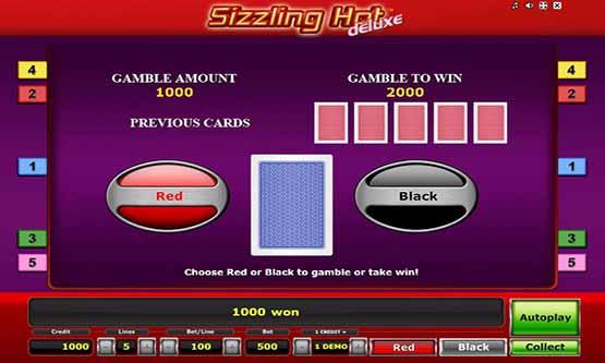 Screenshot Sizzling Hot Deluxe