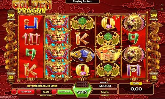 Screenshot The Golden Dragon
