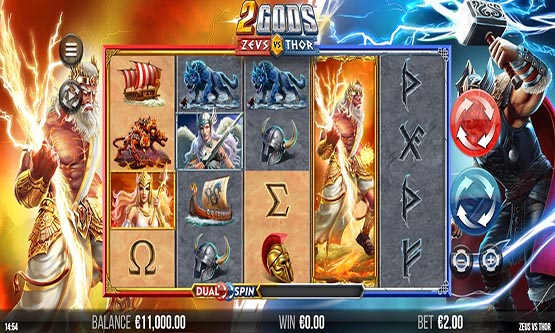 Screenshot 2 Gods Zeus VS Thor