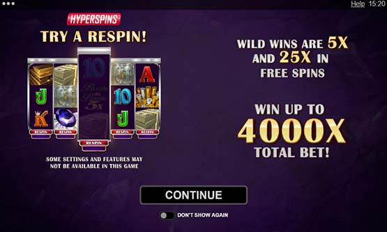 Screenshot Break Da Bank Again Respin
